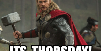 It's Thorsday